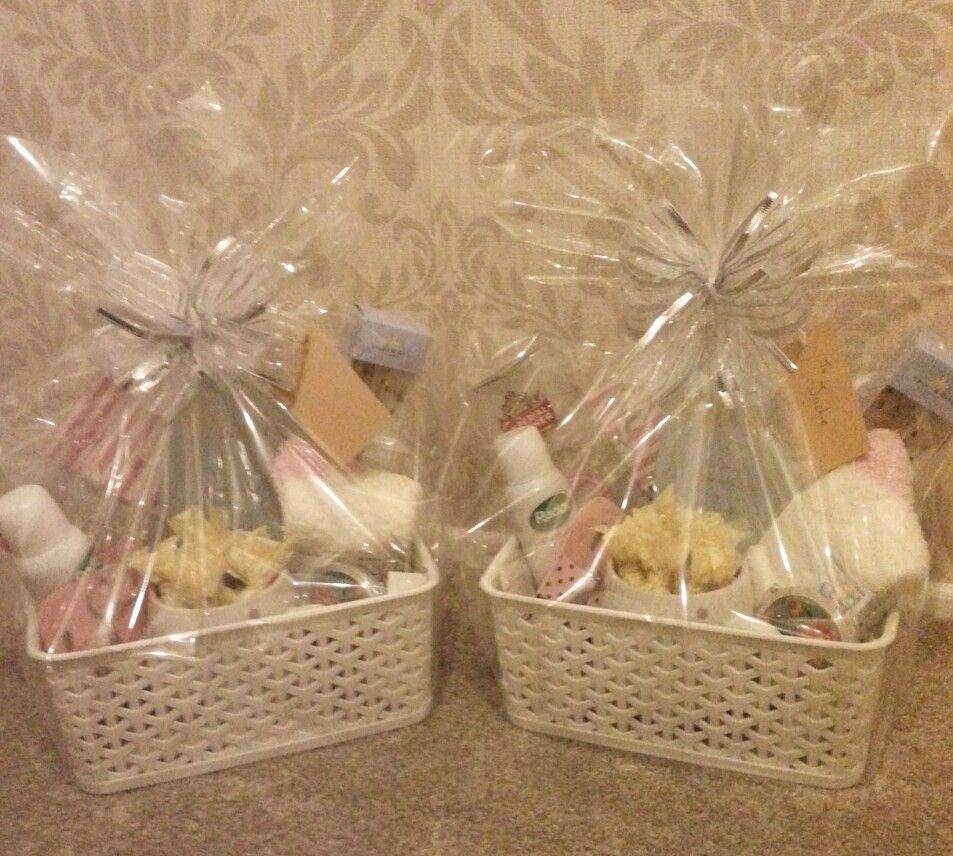 White apron poundland - Mothers Day Gift Baskets Made With Items From Poundland