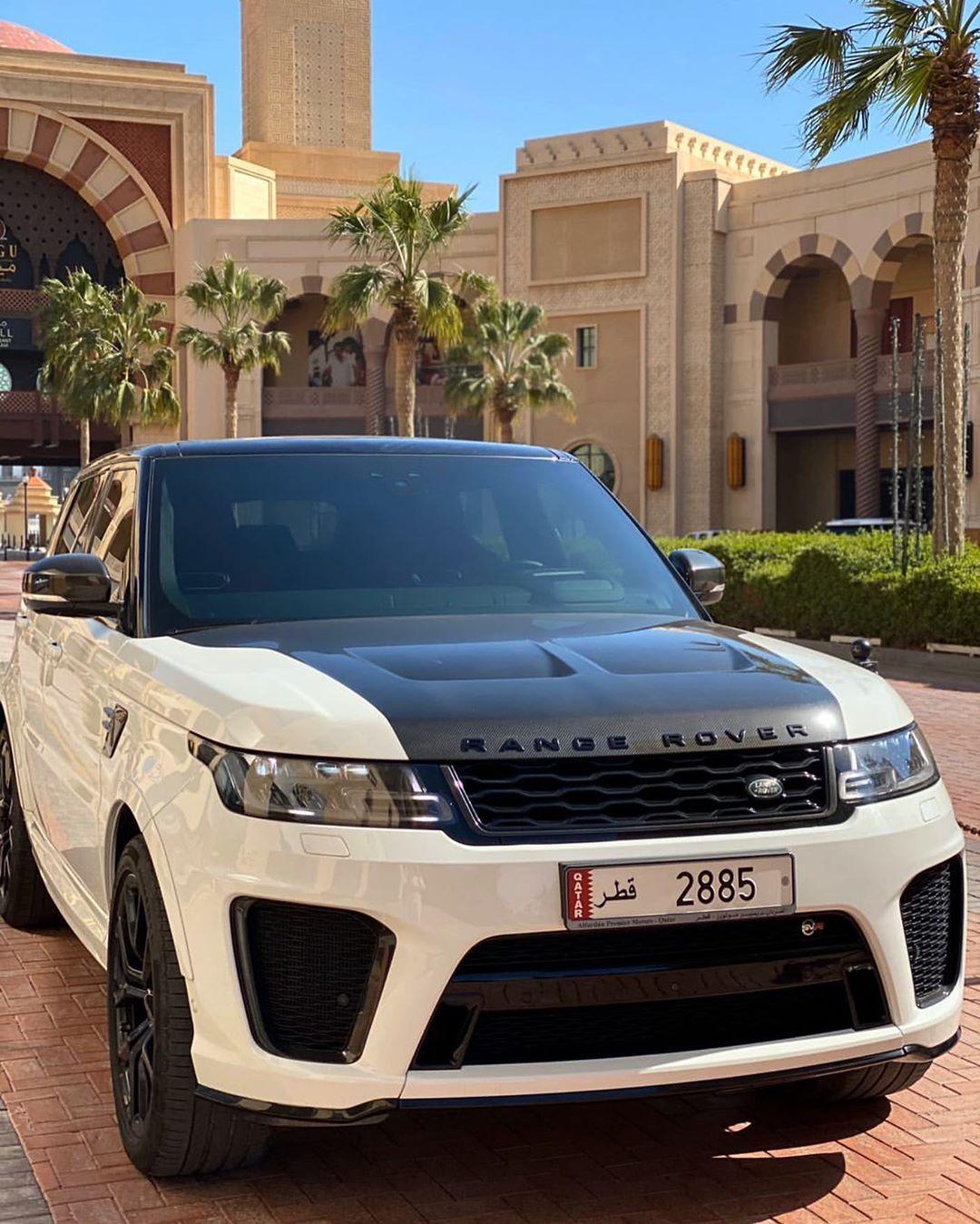 """𝒮𝓊𝓅𝑒𝓇𝒸𝒶𝓇𝓈 on Instagram """"Range Rover Sport SVR ️"""