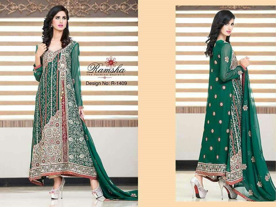 747cac4b66 Pin by Emaan Shakeel on Women's Clothing Brands   Party wear dresses ...