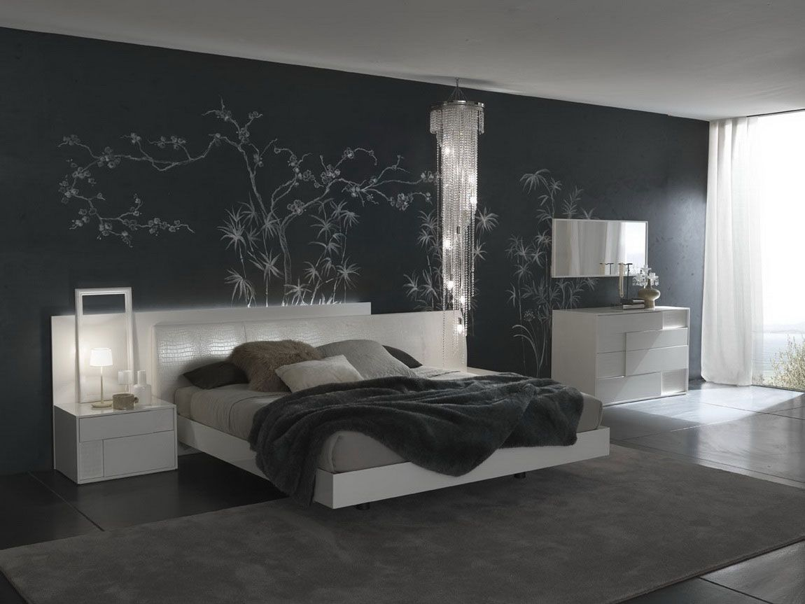 Master bedroom wall paint designs - Bedroom Accent Wall