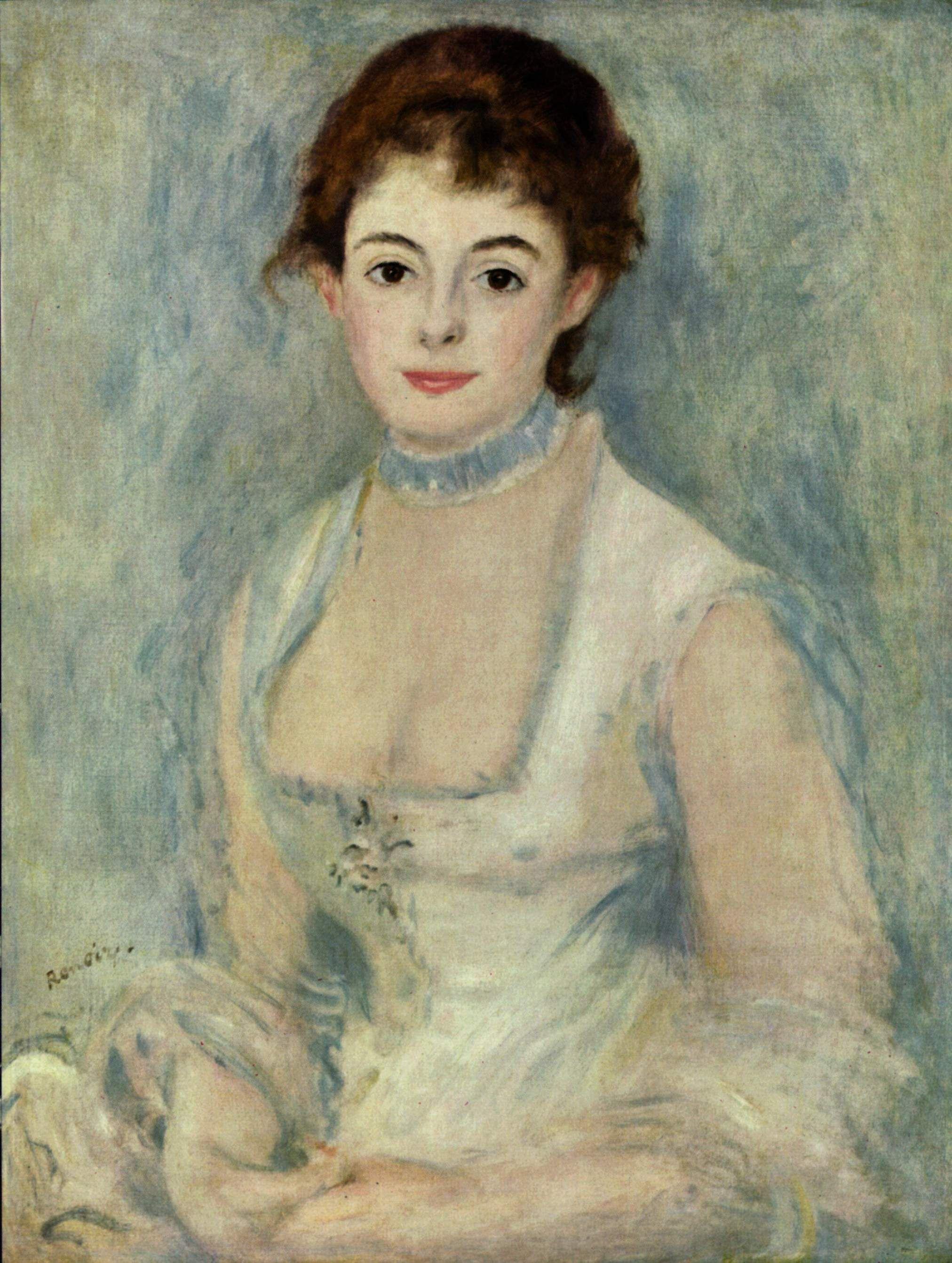 Madame henriot 1876 pierre auguste renoir pierre for Auguste renoir
