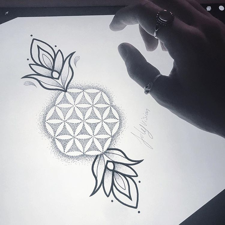 30++ Tattoo fleur de vie trends