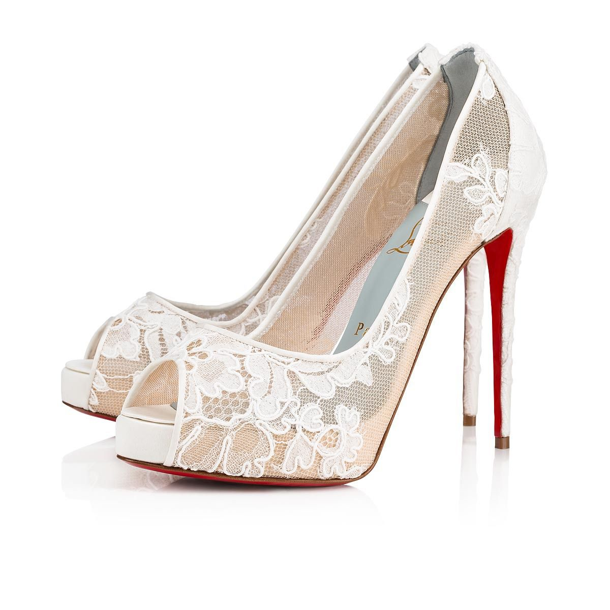 fcd99025c277 With a unique take on Fetish Peep, Christian Louboutin's Very Lace  epitomizes modern-day