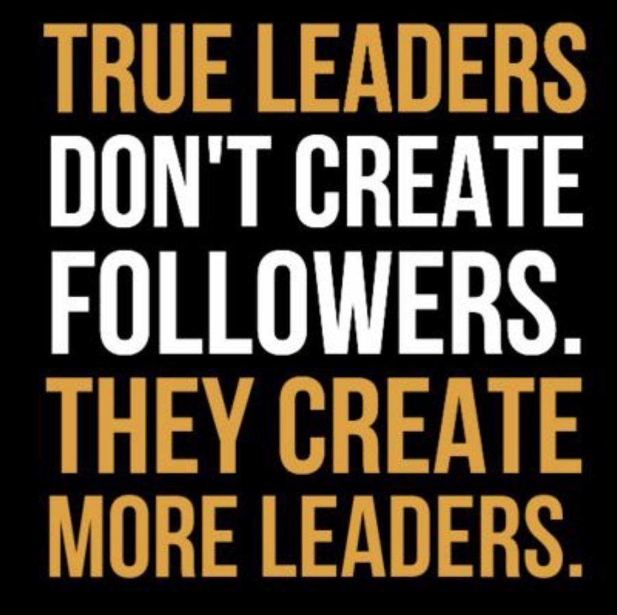 Often I coach managers to focus on building future leaders