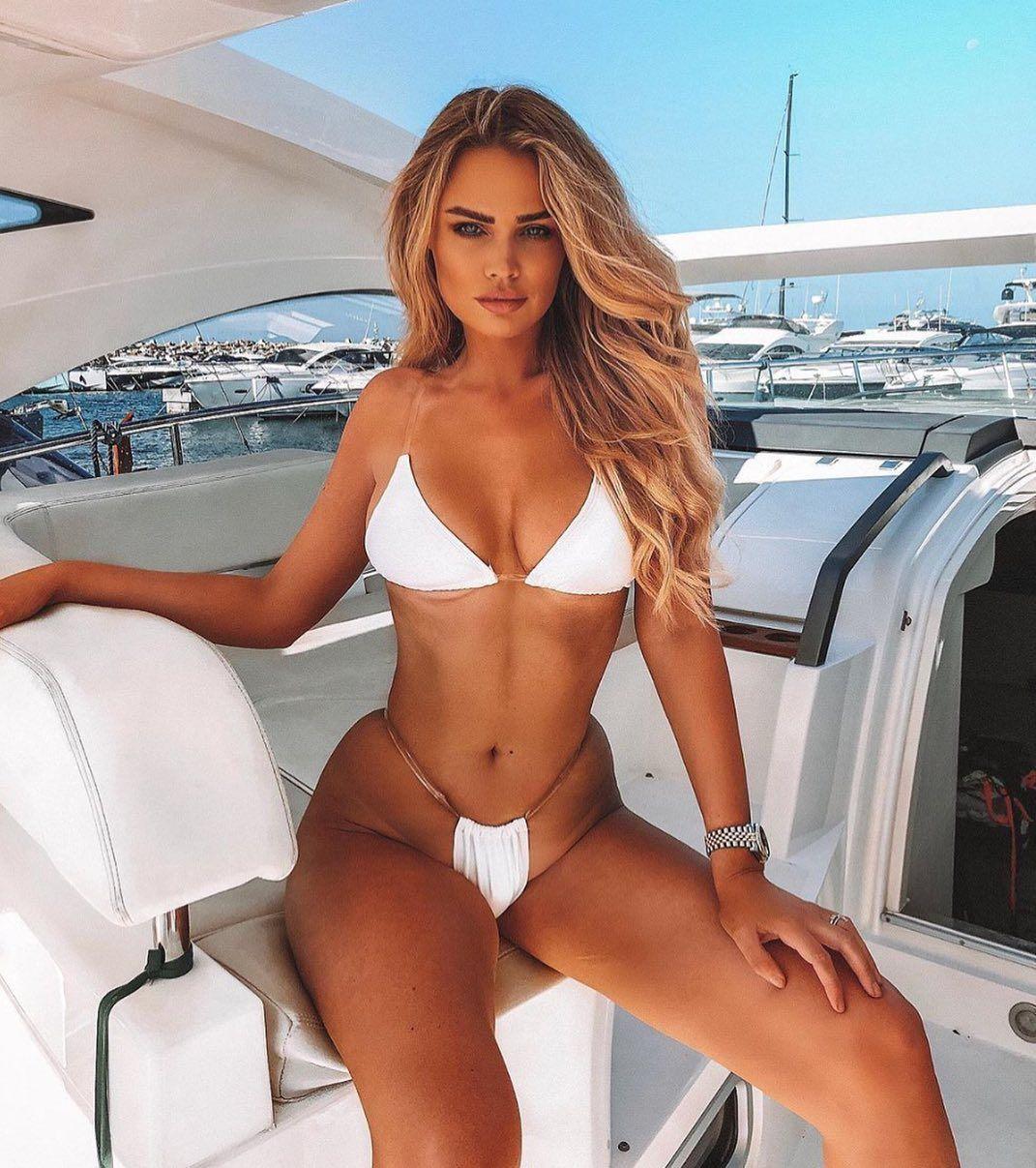 Clear Skies 2 Piece Pvc Strap Bikini White In 2020 Bikinis Rachel Ward Strap Bikini
