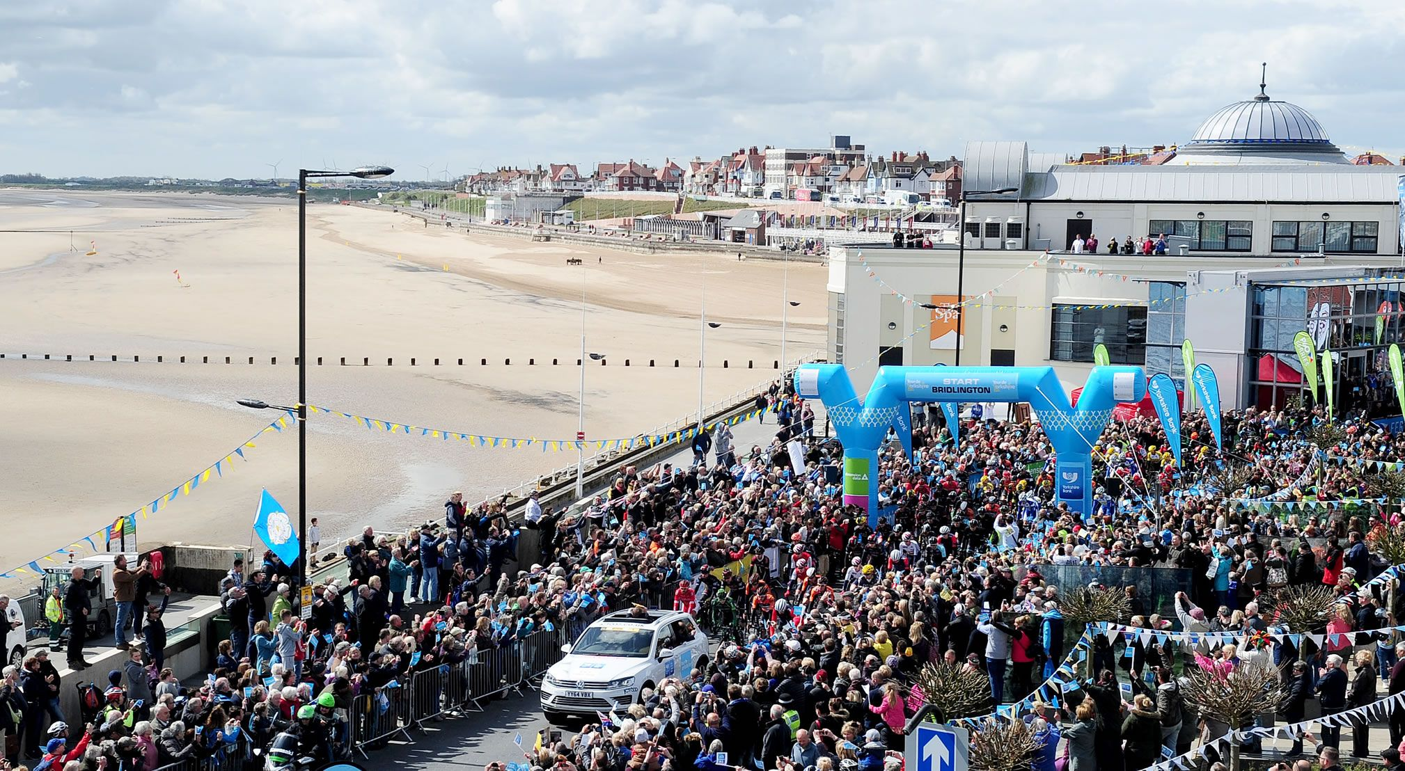 The awesome start to the Tour de Yorkshire in Bridlington, fantastic crowds!