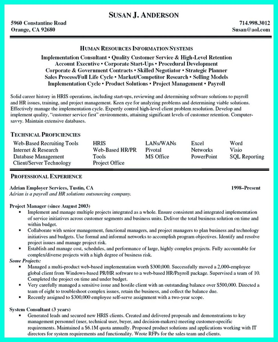 Nice Inspiring Case Manager Resume To Be Successful In Gaining New