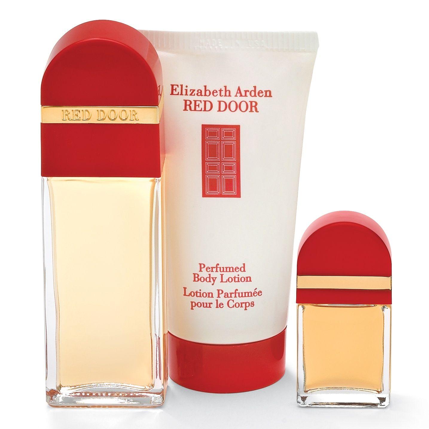 Perfume Gift Set Ladies Fragrances Red Door By Elizabeth Arden 3