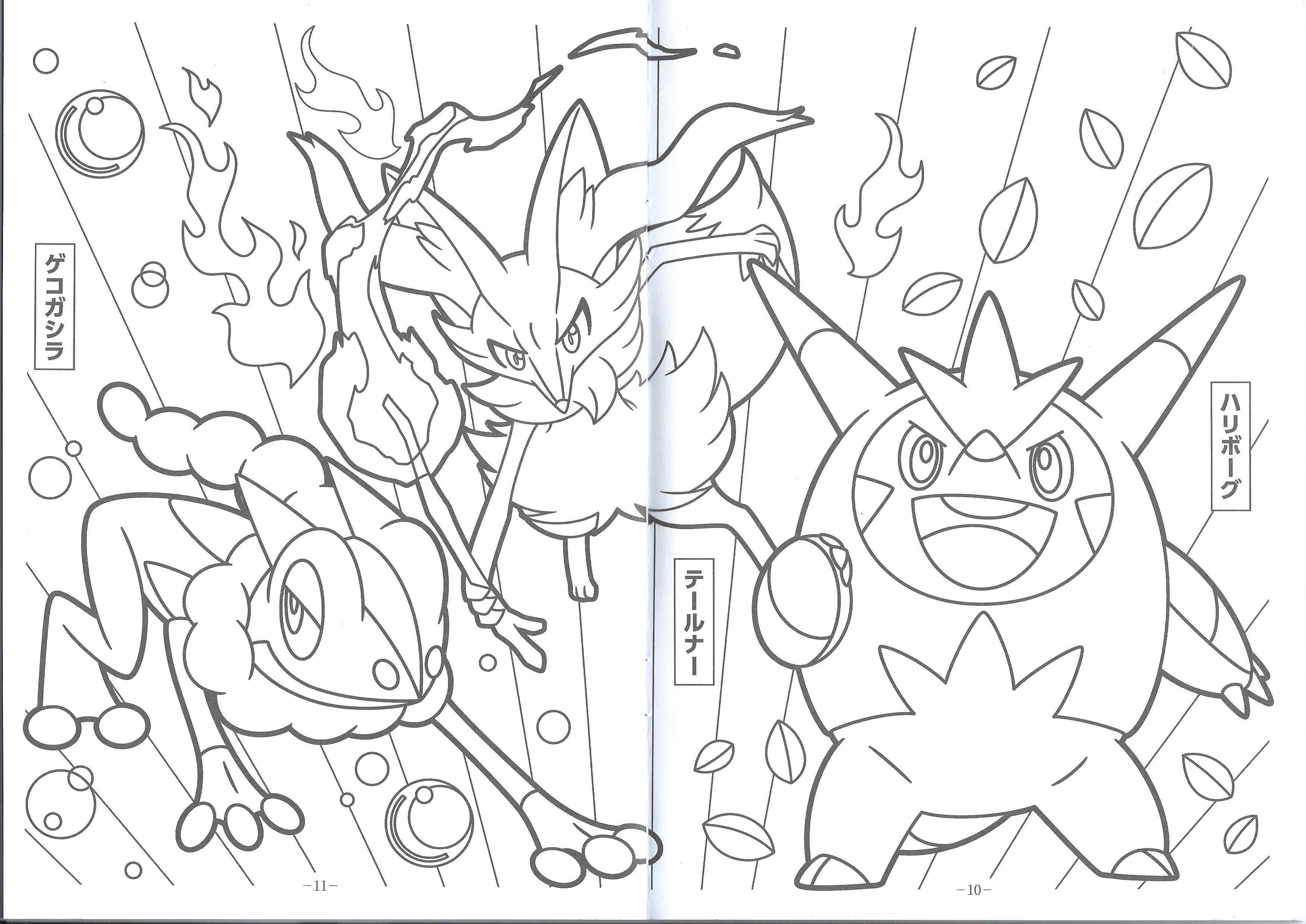 Pin De Austina Nee Em New Pokemon Xy Coloring Pages Pokemon Para Colorir Pokemon Colorir