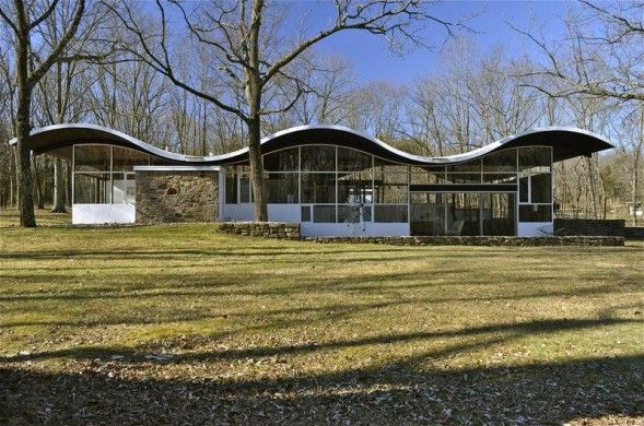 architect Jules Gregory\'s New Jersey home, which was labeled one of ...