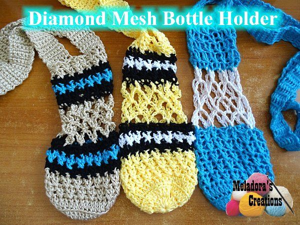 Share this: This Free Crochet pattern teaches how to make bottle ...