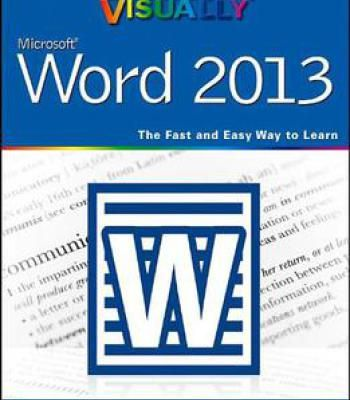 Teach Yourself Visually Word 2013 PDF Software Pinterest Software - sample of excel spreadsheet