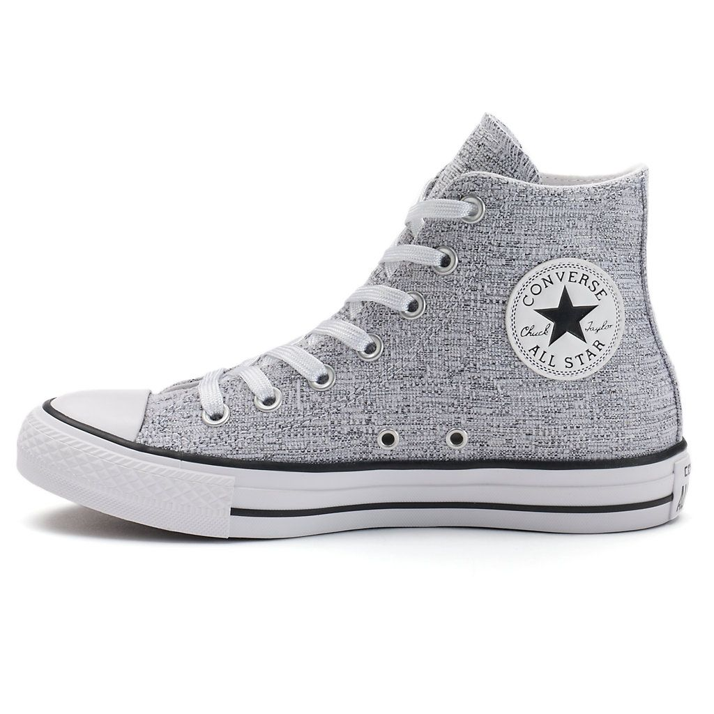2f14426ad998 Women s Converse Chuck Taylor All Star Sparkle Knit High-Top Sneakers