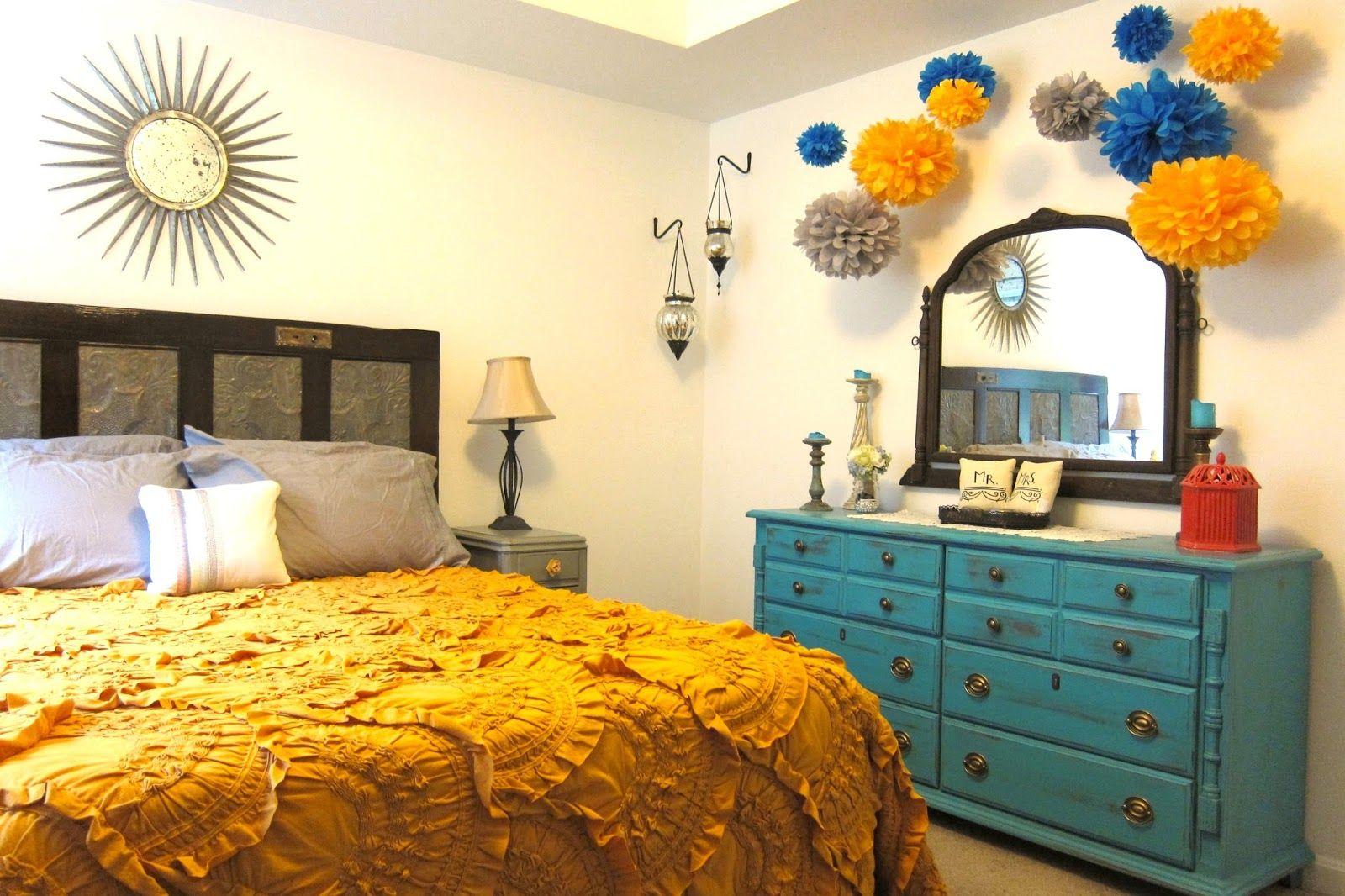 Bohemian Style Bedding | bohemian-style-bedroom-decor-with-elegant ...