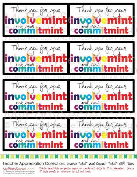 image relating to Thank You for Your Commit Mint Printable called quick down load (listed as is) Printable Instructor