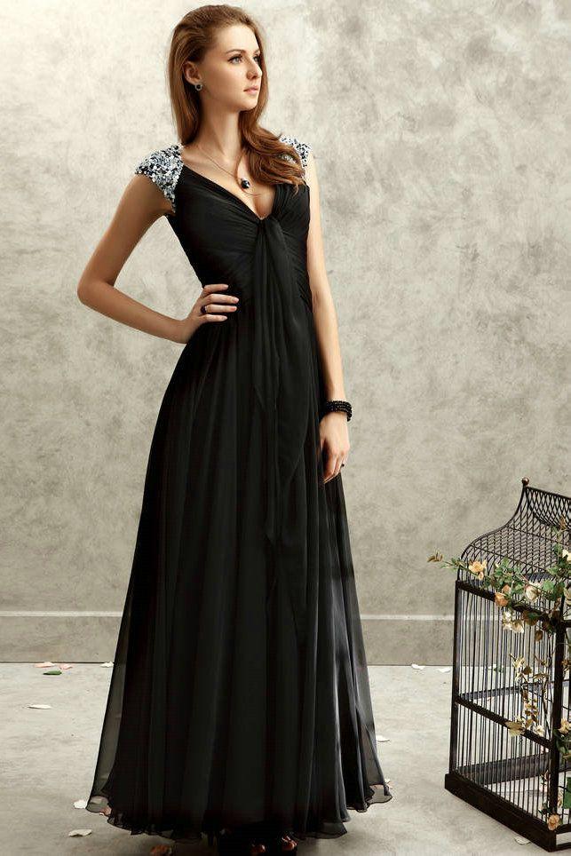 Black dress formal juniors
