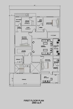 House Floor Plan By 360 Design Estate 1 Kanal Floor Plans Model House Plan Best House Plans