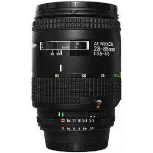 Nikon 28 85 3 5 4 5 Af Zoom Nikkor Wide Angle To Telephoto Nikon Camera Lens Nikon Camera Lenses Camera Nikon Camera Lens