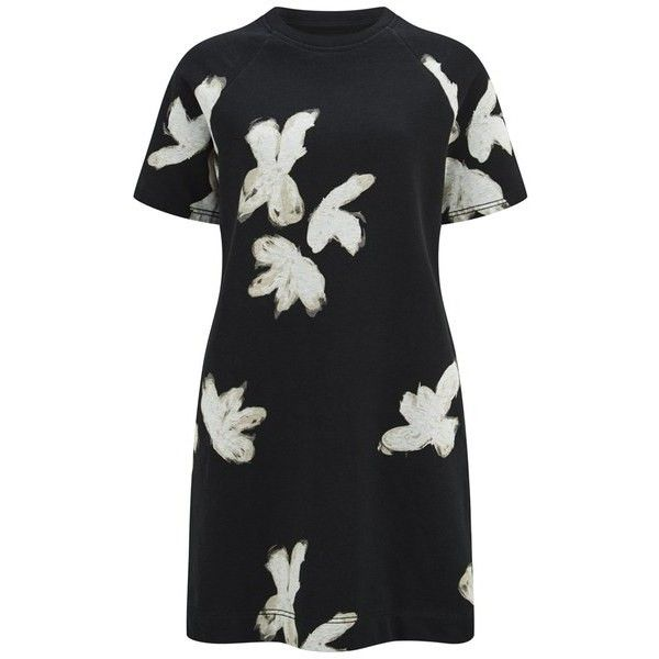 7b2db0f8d8b14 Marc by Marc Jacobs Women s Grand Painted Flower T-Shirt Dress ...