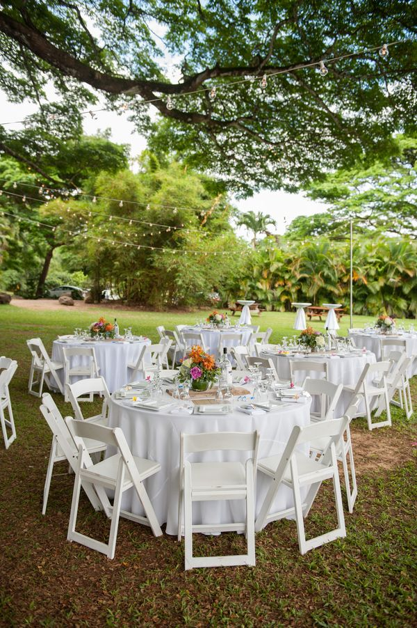 Outdoor wedding | Oahu wedding, Hawaii wedding, Wedding modern