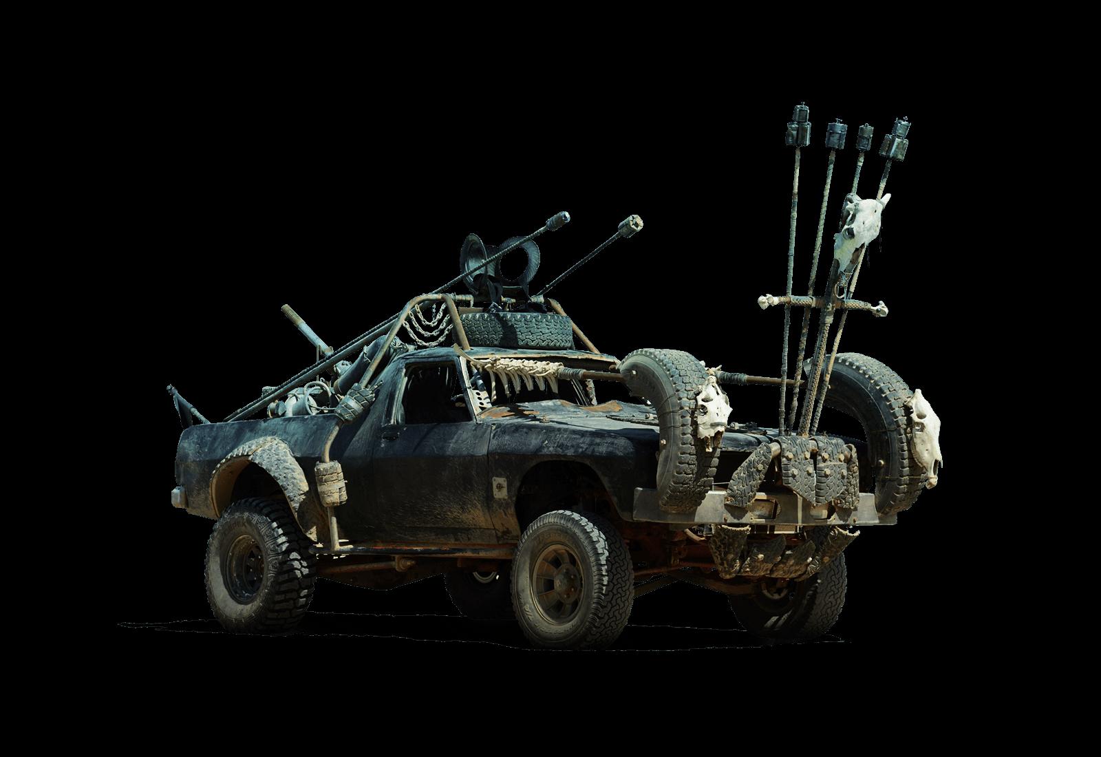Battle vehicle converted car mad max car