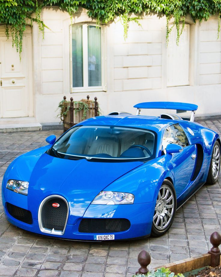 Blue Bugatti Veyron Super Sport: On ! #Bugatti #Veyron Blue #2017 #supercar