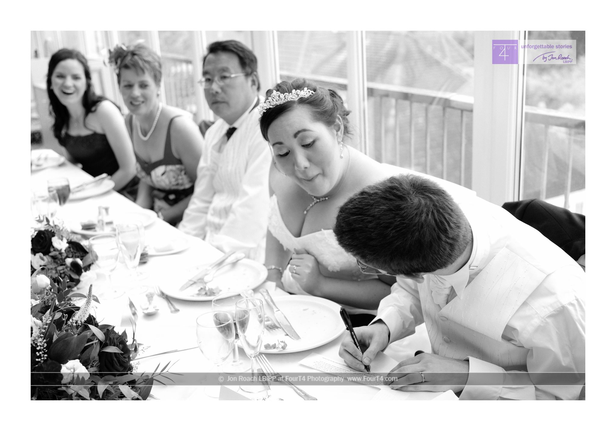 Documentary wedding photography in Bournemouth at the Riviera Hotel