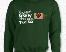 His Heart Grew 3 Sizes That Day Grinch Movie Quote Christmas