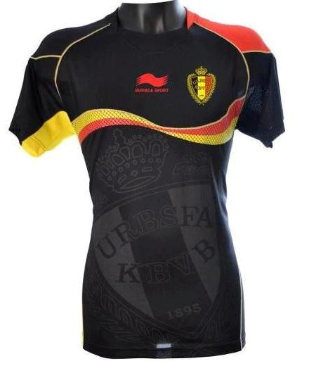 Belgium National Team Away Kit 2012-13 Burrda Soccer Uniforms 6af459934baea