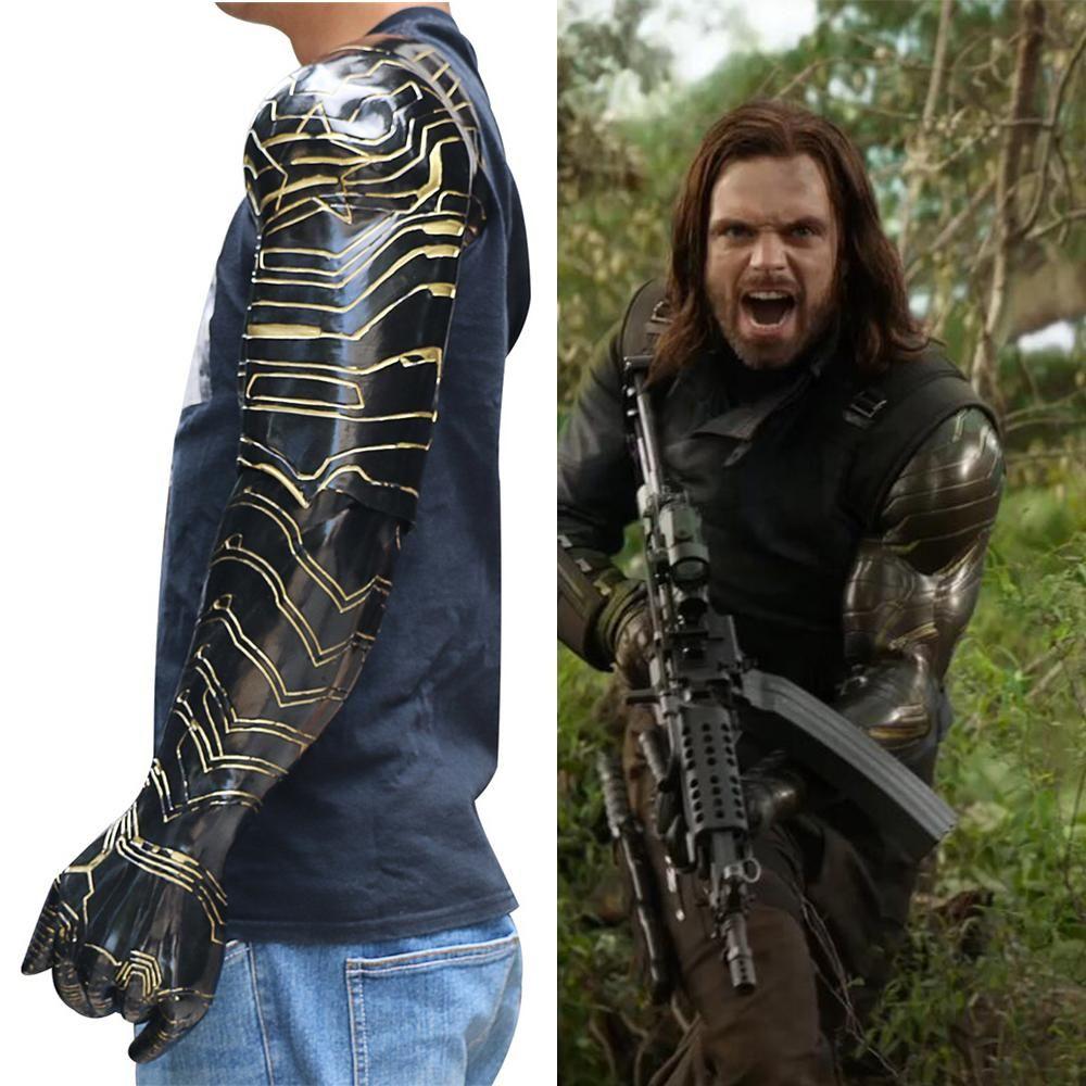 AVENGERS 3 Infinity guerre Bucky Barnes Cosplay Winter Soldier Costume Halloween