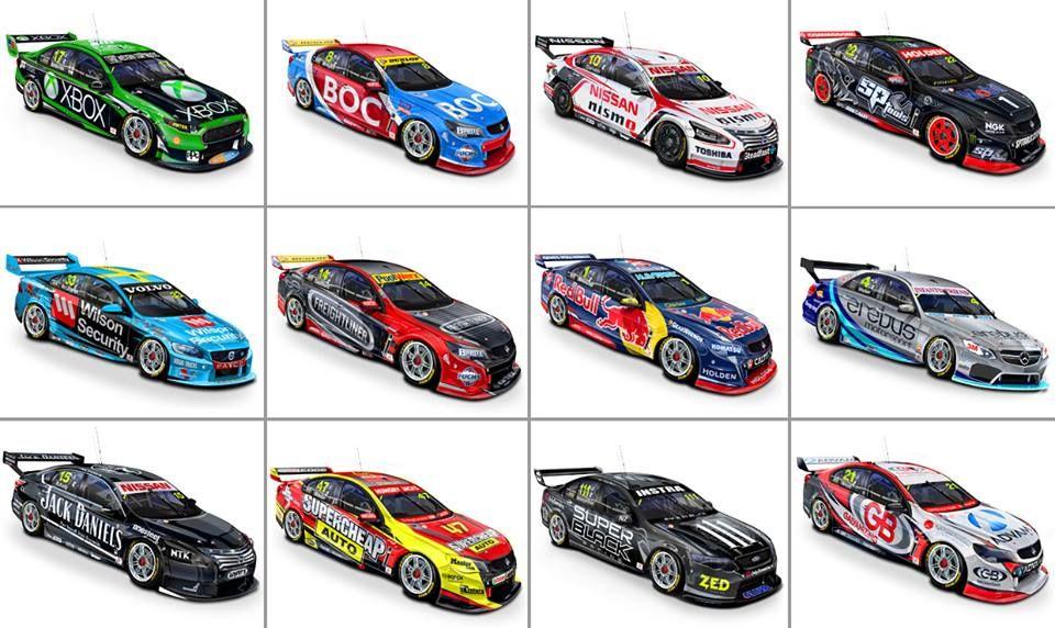 2015 Liveries V8 Supercars Australia Super Cars V8 Supercars Supercars Concept