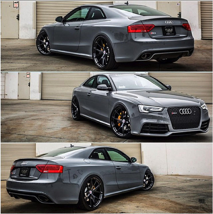 Different Moods Of Audi RS5: Triple Treat To The Eyes