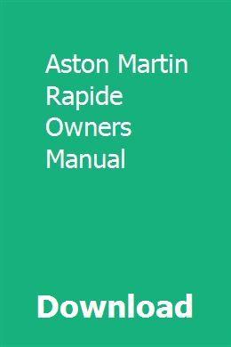 Aston martin owners manual ebook array download aston martin rapide owners manual pdf aston martin rapide rh pinterest com fandeluxe Images