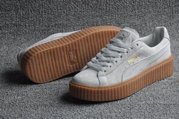 newest 2b3d3 34021 Puma Creeper Grey Oatmeal | Luxeblood Luxury Footwear ...