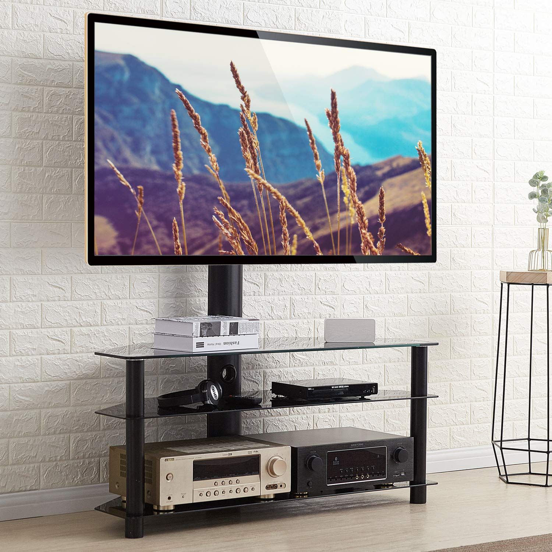 Rfiver Universal Tv St Nder 110 Cm Breit F R 32 65 Zoll Fernsehst Nder Rack Fernsehtisch Glas Tisch Fernsehschrank Eckschrank In 2020 Tv Stander Fernsehtisch Fernseher