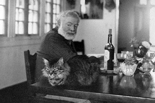 The Closerie des Lilas was Hemmingway's home café, where he wrote ...