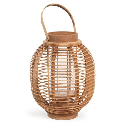 Lanterna in legno H 30 cm MENGWI (avec images) Lanterne