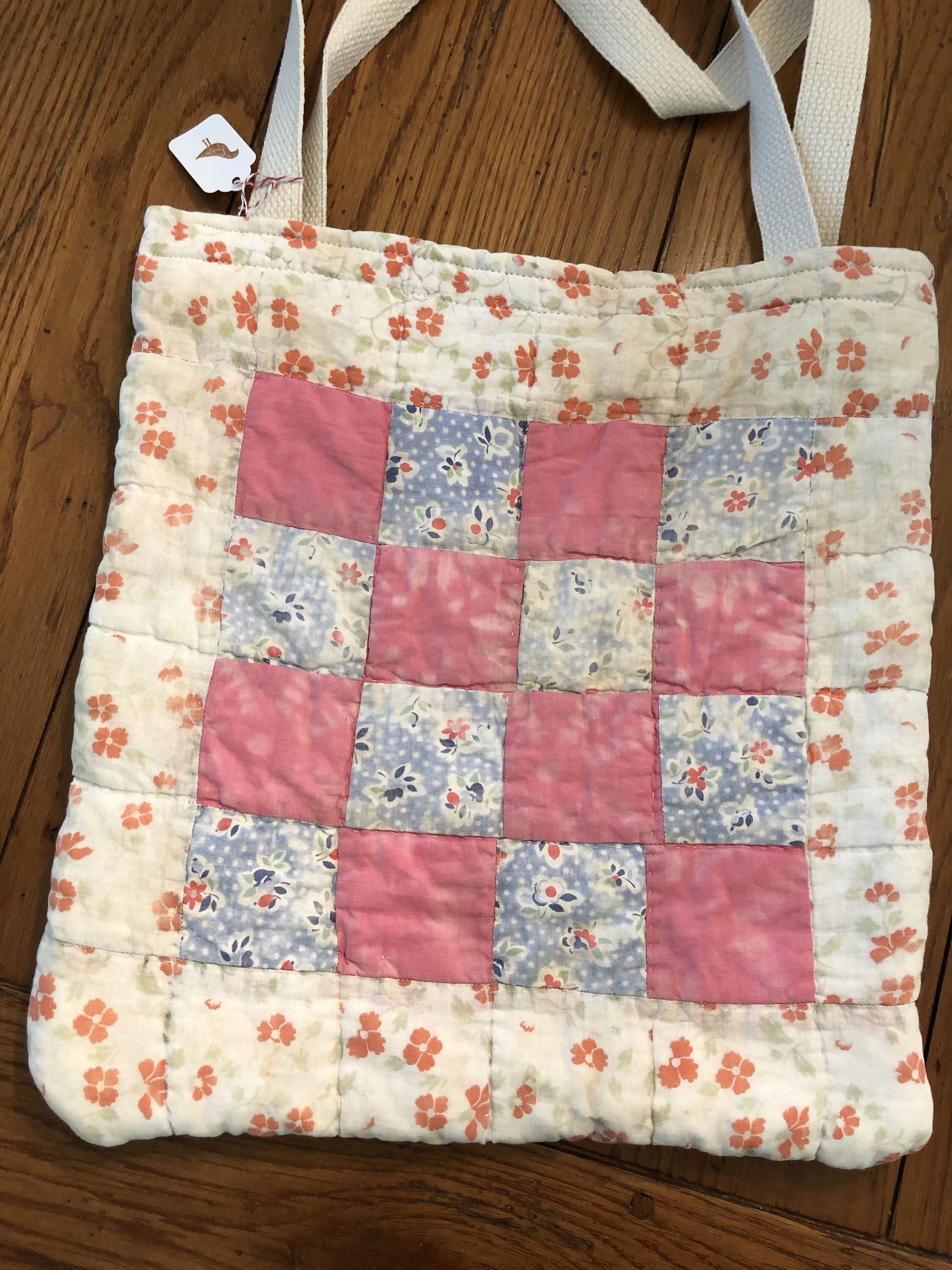 shopping bag Vintage tablecloth vintage tote tote cotton tote shabby chic tote floral bag repurpose vintage tablecloth