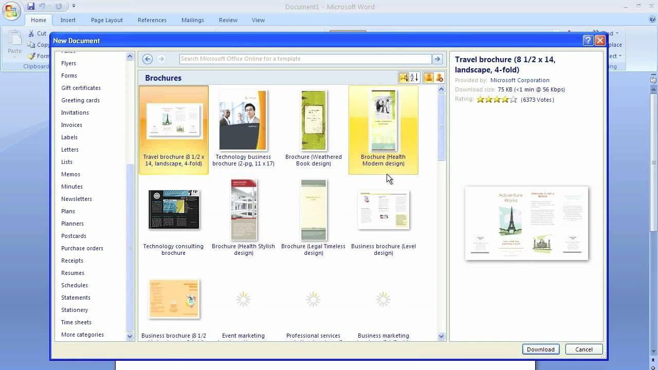 Microsoft Word Brochure Template Pamphlet Template Free Brochure Template Booklet Template - ms word pamphlet template
