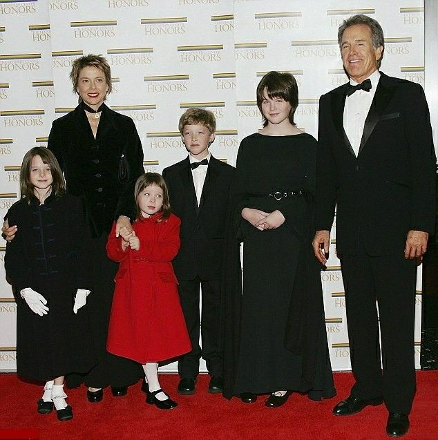 Warren Beatty born May 30, 1937 and Wife Annette Bening ...