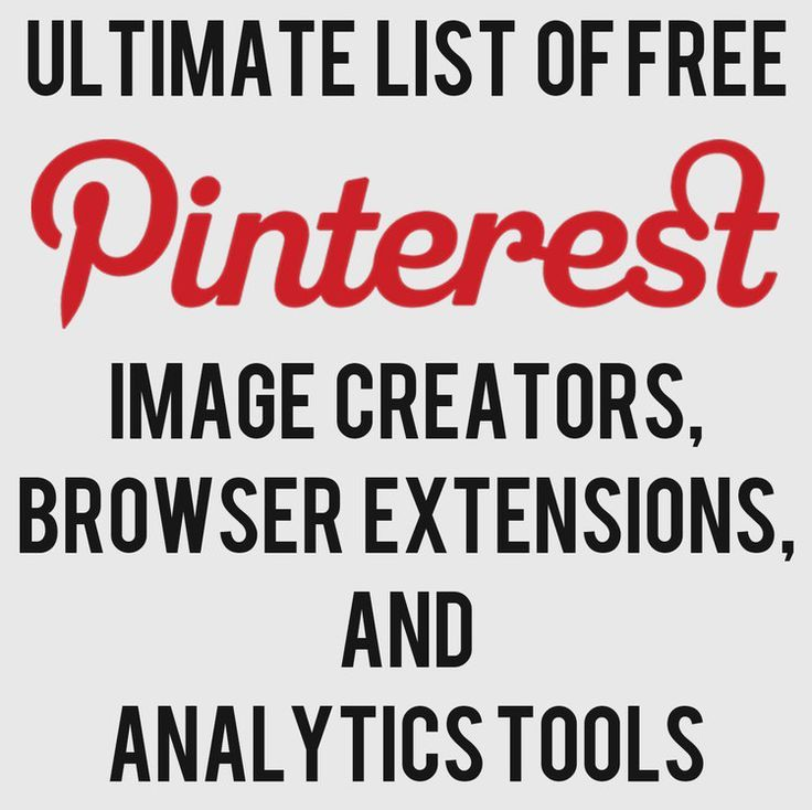 Create original visuals for Pinterest, blogs, websites and more.  Ultimate List of FREE Image Creator, Extensions, Analytics Tools — Andrew Macarthy | Social Media Marketing Wales |
