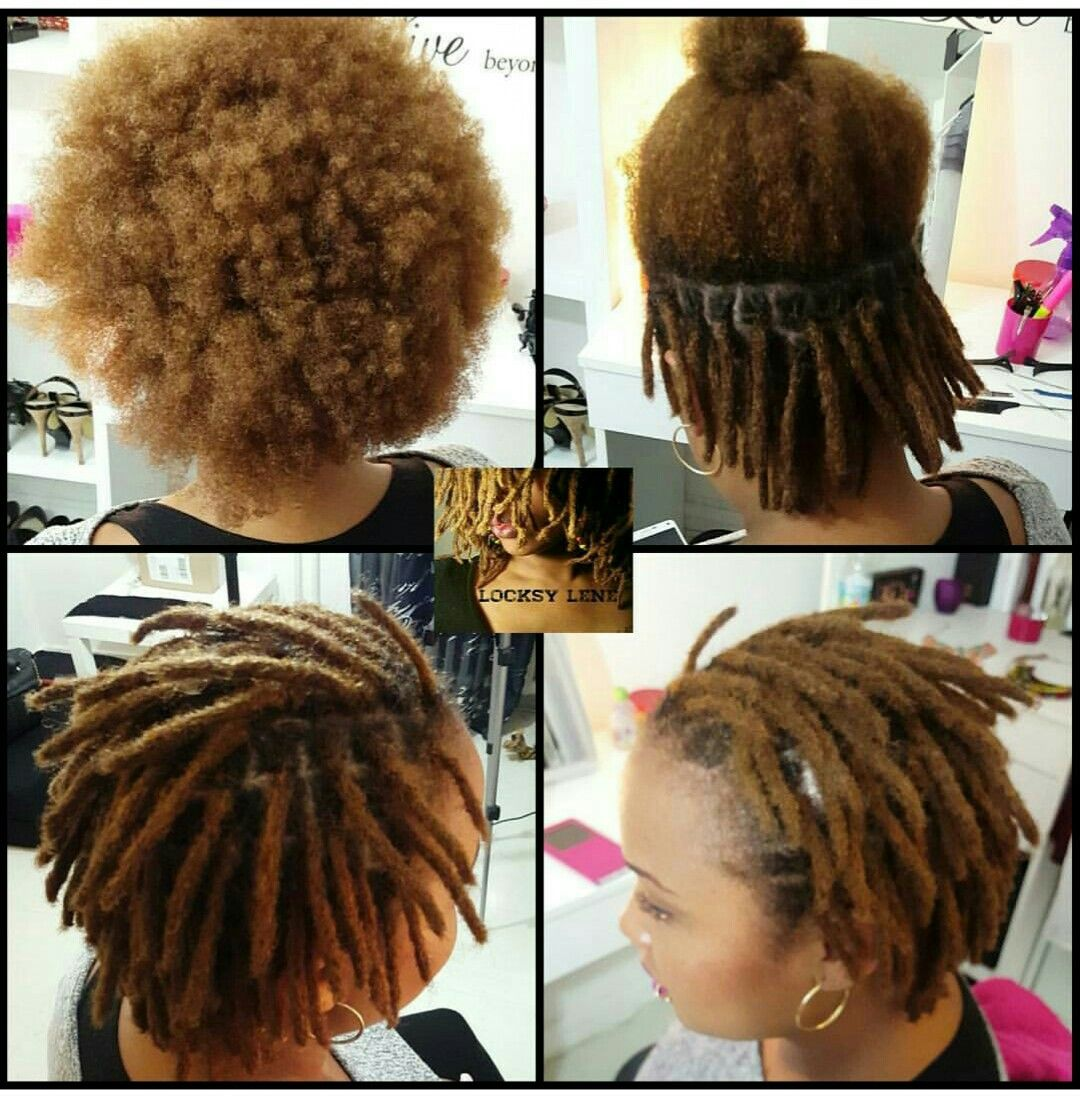 The Locking Process How To Start Dreadlocks Natural Hair Styles Locs Hairstyles