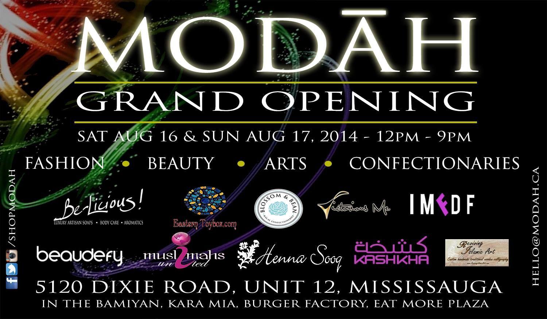 Modah (LOCATED BESIDE APPLIANCE WAREHOUSE) 5120 Dixie Road