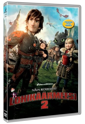 Näin Koulutat Lohikäärmeesi 2 - DVD - Elokuvat - CDON.COM