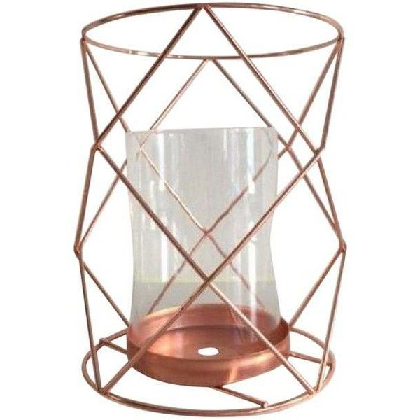 Copper Candle Coffee Table Display - Pair (67 AUD) ❤ liked on Polyvore featuring home, home decor, candles & candleholders, candles & holders, copper home decor, jewelry candles, copper home accessories, copper candle holders and jewelry bowl