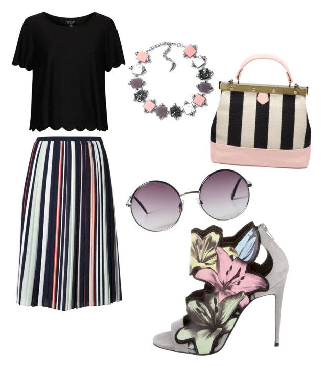 """""""Untitled #31"""" by ramisatabassum on Polyvore featuring Pierre Hardy, Rebecca Minkoff, Topshop and Monki"""