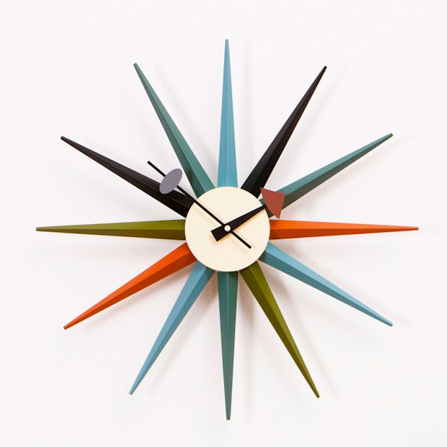 George Nelson Starburst Clock George Nelson Wall Clock Wall
