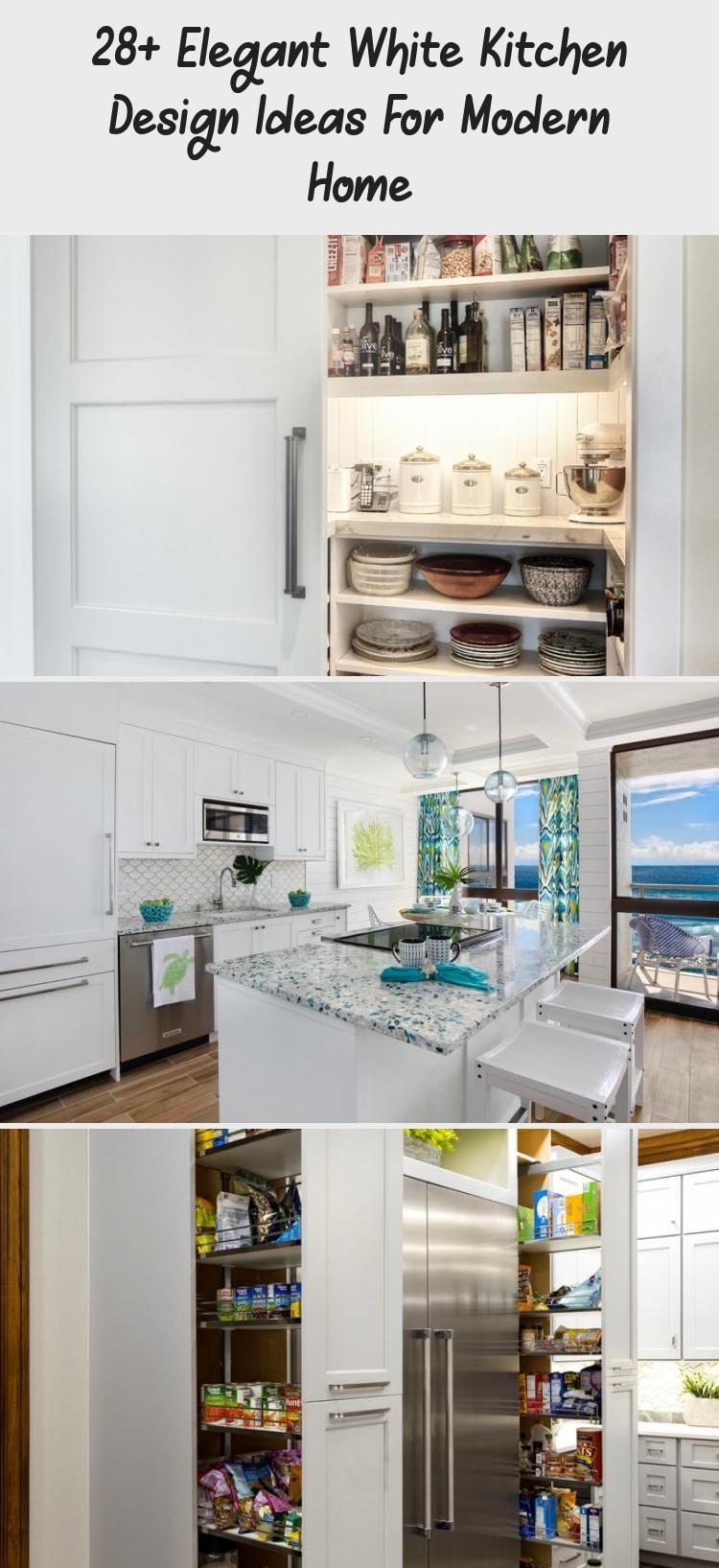 28 Elegant White Kitchen Design Ideas For Modern Home Decorations White Kitchen Kitchen Design Classical Kitchen