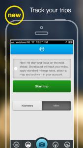 The Shoeboxed Receipt Tracker app now tracks mileage