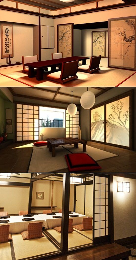 Japanese Dining Room Decoration dining room ideas Pinterest